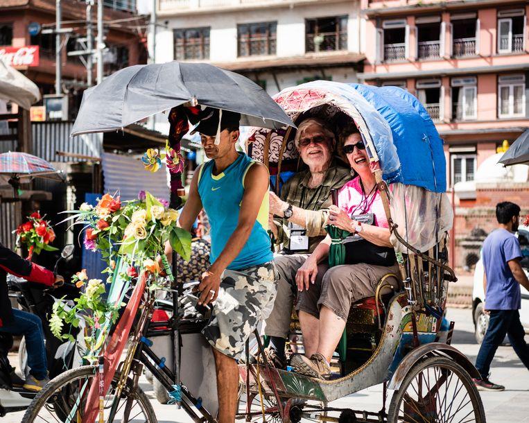 Het toerisme komt weer op gang in Kathmandu. Beeld Katja Poelwijk