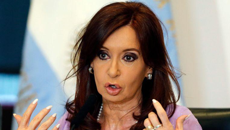 President Kirchner. Beeld REUTERS