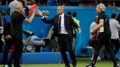 """REACTIES. Martínez: """"Mijn ploeg weigerde te verliezen"""", Courtois: """"Het klopte allemaal bij ons"""", De Bruyne: """"Nog twee matchen"""""""