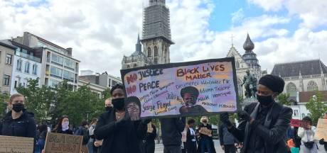 Black Lives Matter-manifestatie op Antwerpse Groenplaats trekt tot 700 deelnemers