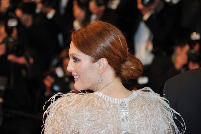 Julianne Moore n'a pas pu être Cannes pour recevoir son prix d'interprétation féminine.