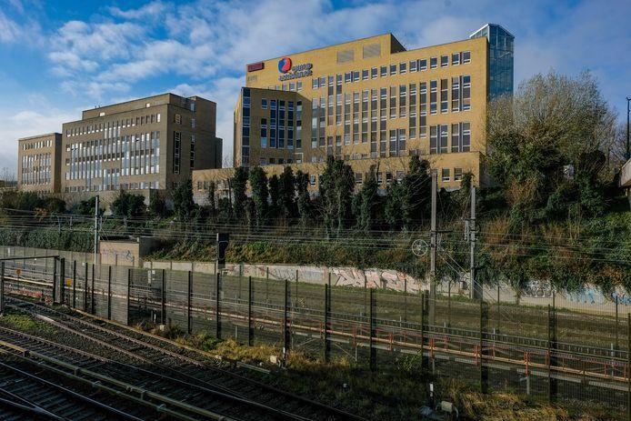 De gebouwen van Europ Assistance in Oudergem.