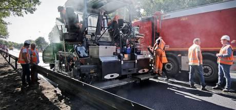 Extra drukte verwacht door asfalteringsklus Leenderheide bij Eindhoven