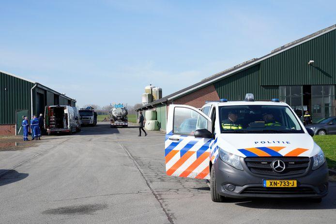 Drugslab Noorder Kreekweg in Halsteren.