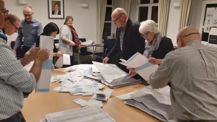 Bijna 4 op de 5 Rozendalers ging stemmen, de hoogste opkomst van Nederland