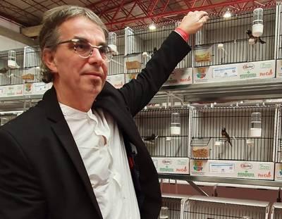 Leon uit Appeltern beste kweker ter wereld van bruinborstrietvinken
