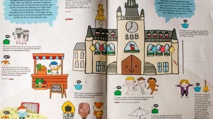 """""""Ontdek de stad op kindermaat"""": kleurrijk spel- en speurboek voor kinderen in 7.000 brievenbussen"""