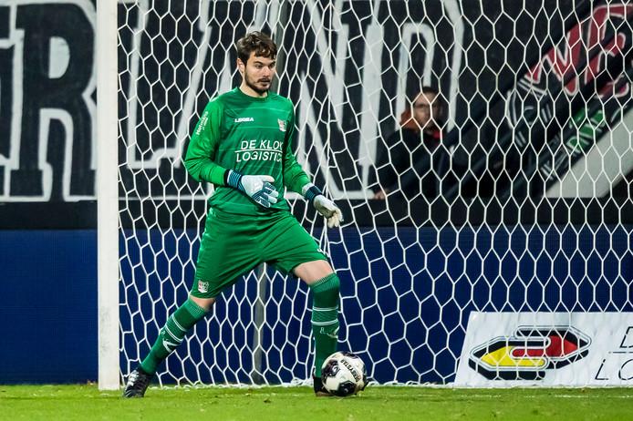 Oliver Zelenika maakte tegen Sparta zijn debuut voor NEC.