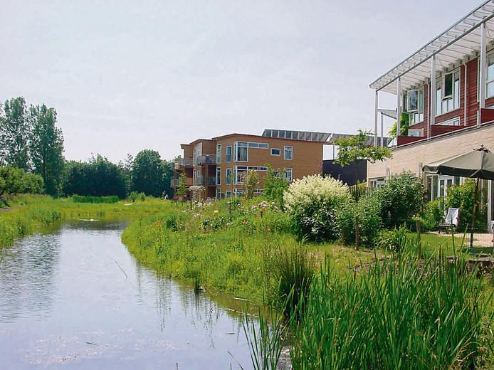 Een voorbeeld van een ecowijk.