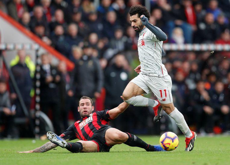 Salah is Cook te snel af.