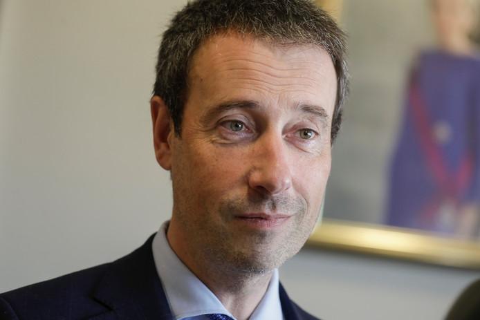 Philippe Goffin, le ministre belge des Affaires étrangères et de la Défense.