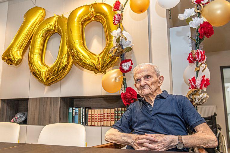 De 100 jarige Cyriel Dewiele.