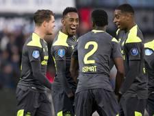 PSV presteert laatste twee jaar zeer goed op kunstgras