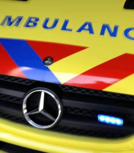 Man raakt gewond bij valpartij in Barneveld