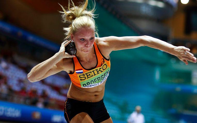 Nadine Broersen. Beeld epa
