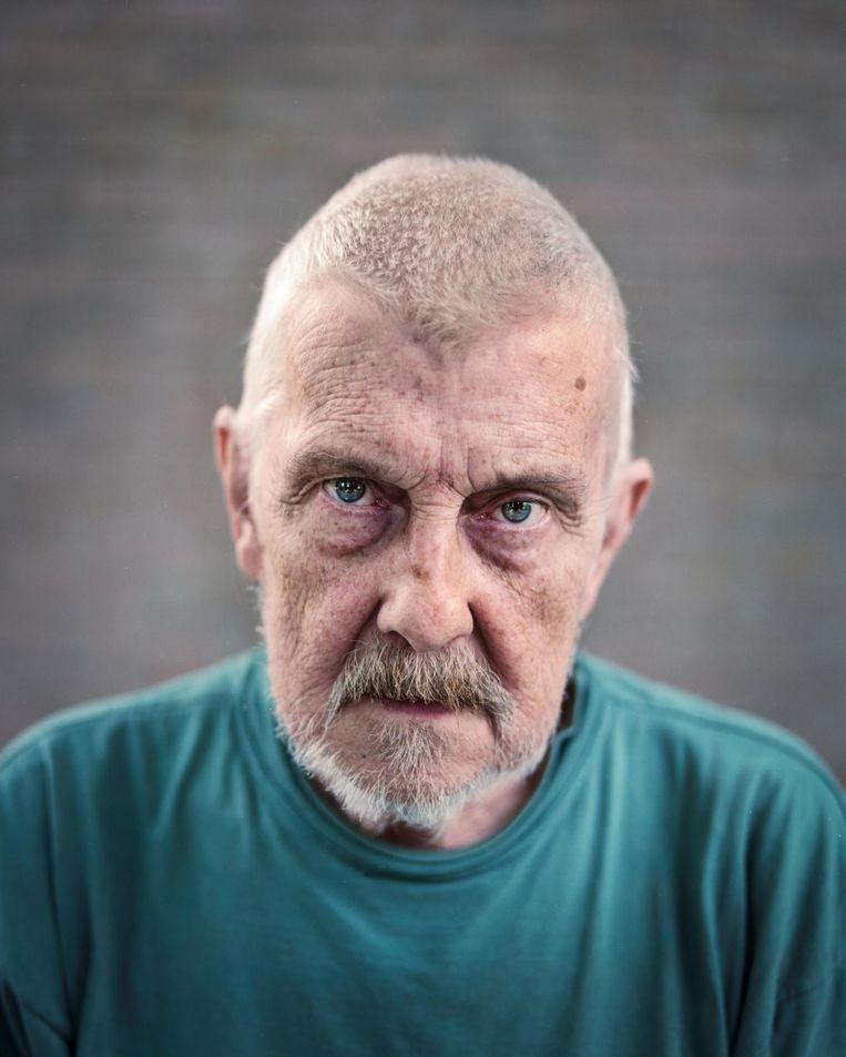 Ton de Tombe: 'Ik ben een gezellige vent met een positieve levensvisie.' Beeld Marc Driessen
