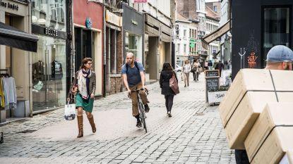 Opnieuw controle in wandelstraten: 105 fietsers op de bon