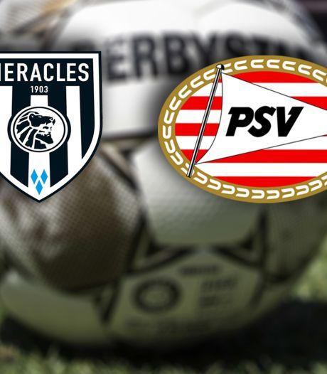 Duel Heracles tegen PSV verplaatst naar later tijdstip