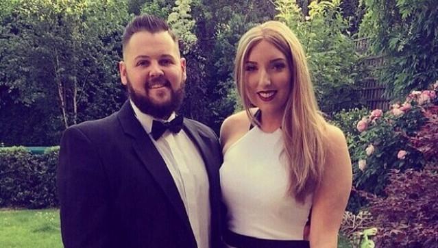 Andy met zijn toekomstige vrouw Anna
