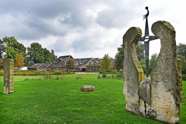 Landhuishotel De Bloemenbeek, waar onder andere Ajax, Feyenoord en Bayern München verbleven. Beeld Guus Dubbelman / de Volkskrant