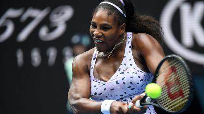 Serena Williams viert haar terugkeer op de courts in Kentucky