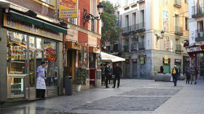 Huisarrest voor alle Spanjaarden na 1.500 nieuwe coronabesmettingen: boetes tot 3.000 euro
