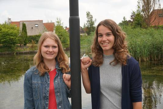 Bo van Geijn (l) en Lisa van Gerven.
