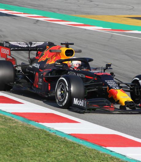 Verstappen heeft goede dag in Barcelona met 84 rondes en tweede tijd