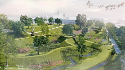 Alsemberg werkt aan groene oase