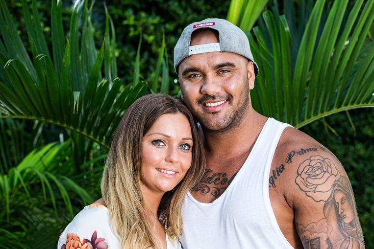Kirsten en Regilio deden mee aan 'Temptation Island'.