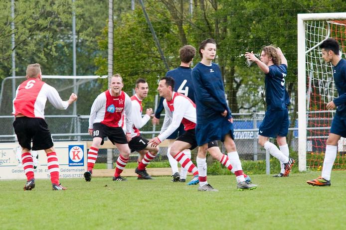 GVV (Geldermalsen) won ruim van Beesd. Archieffoto Raphaël Drent