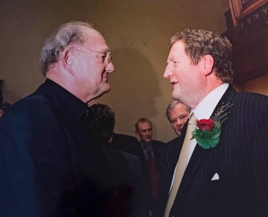 Joop van den Ende en Jacques Senf.