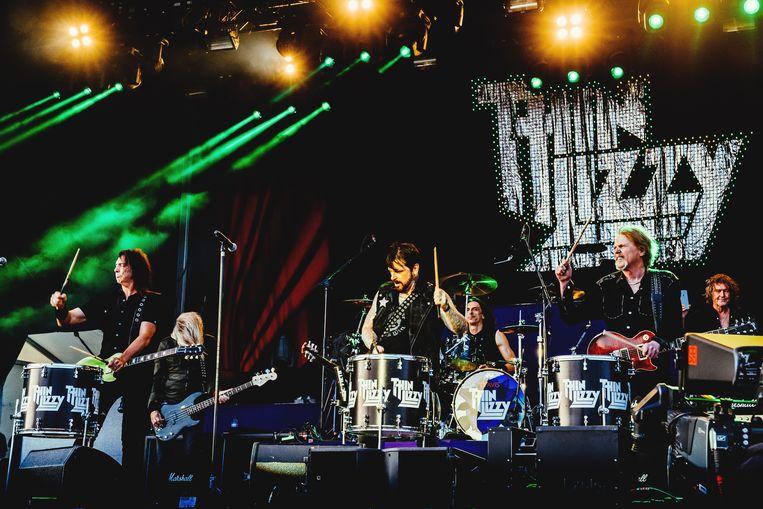 Thin Lizzy. Beeld Stefaan Temmerman