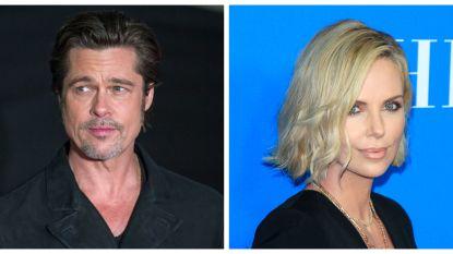 """Brad Pitt is samen met Charlize Theron"""