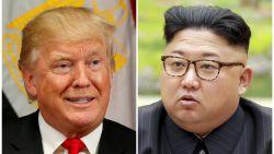 """Trump wil """"absoluut"""" spreken met Noord-Korea en steekt pluimen toenadering op eigen hoed: """"Zonder mij zouden ze niet met elkaar praten"""""""