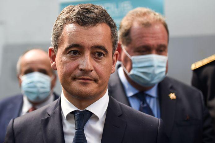 Gérald Darmanin, ministe français de l'Intérieur.
