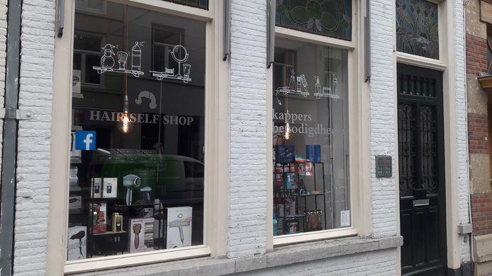 Het Kapperswinkeltje vertrekt uit pand in de Vughterstraat