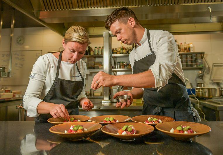 Jonas Haegeman, en zijn zus Laurence nemen met hun restaurant 'De Vijf Seizoenen' deel aan Jong Keukengeweld.