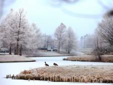 Winterweer levert mooie plaatjes op