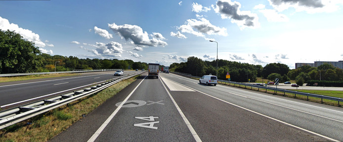Hier komen A4 en A58 samen op knooppunt Zoomland.