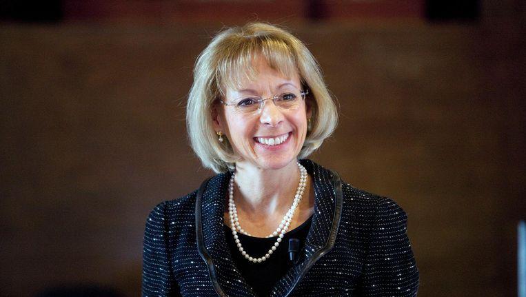 De best betaalde bestuurder van een AEX-bedrijf: Nancy McKinstry, topvrouw van informatieconcern Wolters Kluwer. Beeld Hollandse Hoogte
