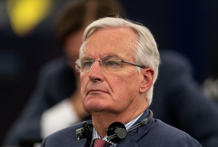 Michel Barnier, de Europees hoofdonderhandelaar voor de brexit, liet via Twitter weten dat er nog geen akkoord is bereikt over de toegang van de Britse financiële diensten tot de Europese eenheidsmarkt na de brexit.