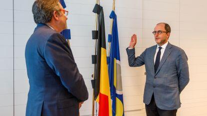 Fabrice Cumps legt na lang wachten eed af als nieuwe burgemeester van Anderlecht