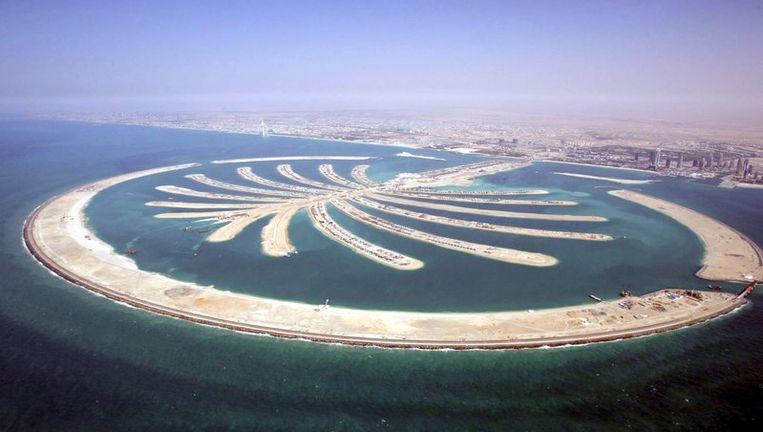 De Palmeilanden in Dubai. Foto ANP Beeld