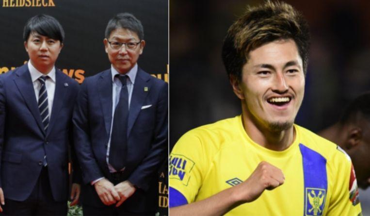 CEO Tateishi en Yuma Suzuki.