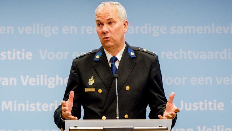Meer diversiteit in het korps is volgens de korpschef belangrijk voor de effectiviteit van de Amsterdamse politie Beeld anp