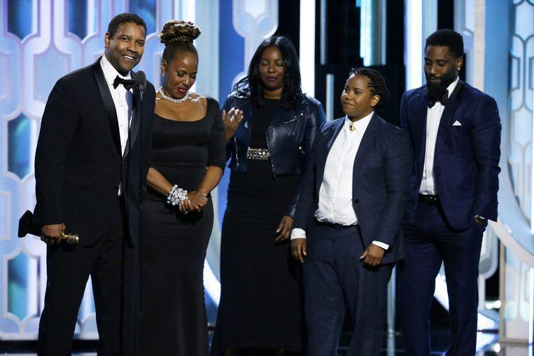 Denzel Washington (links). Beeld ap