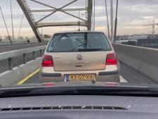 Omrijden vanwege de afgesloten Wantijbrug: zo ziet dat eruit