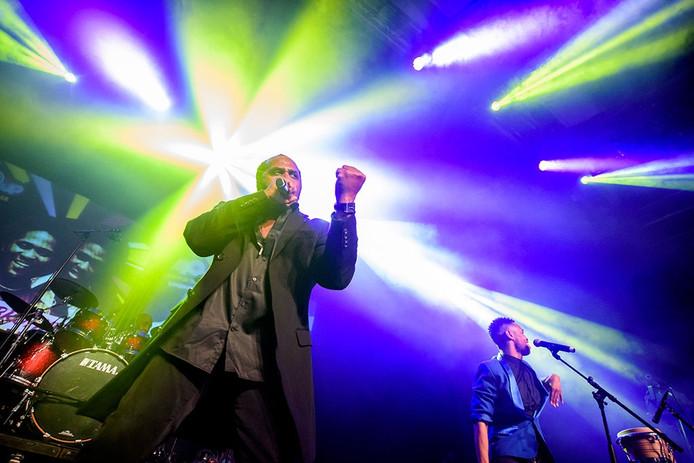 De Gibson Brothers bij het 40UP-festival