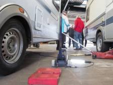 Inspectie van caravans in Wierden